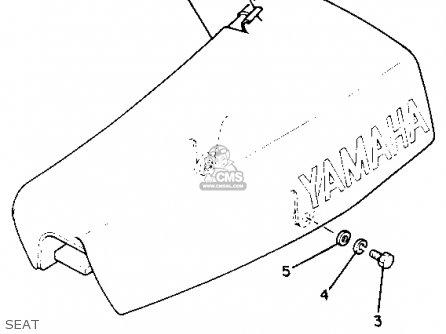 Yamaha Yz50 1980 (a) Usa parts list partsmanual partsfiche