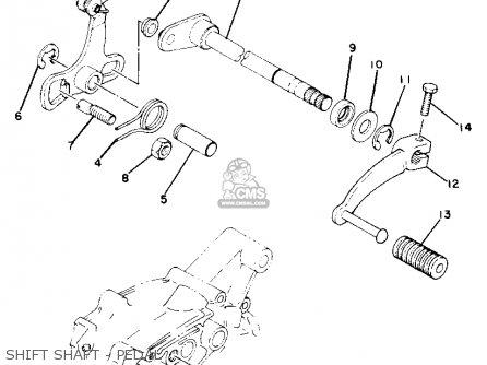 Yamaha Yz50g 1980 parts list partsmanual partsfiche