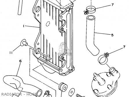 Yamaha Yz80-1 1995 (s) Usa parts list partsmanual partsfiche