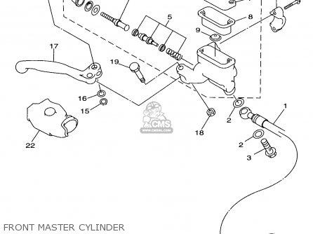 Yamaha Yz80-1 1998 (w) Usa parts list partsmanual partsfiche