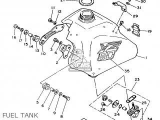 Yamaha Yz80 1986 1lr Europe 261lr-300e1 parts list