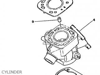 Yamaha YZ80 1987 2JF EUROPE 272JF-300E1 parts lists and
