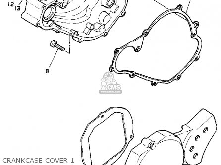 Yamaha Yz80 1992 (n) Usa parts list partsmanual partsfiche