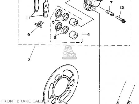 Yamaha YZ80 1992 (N) USA parts lists and schematics