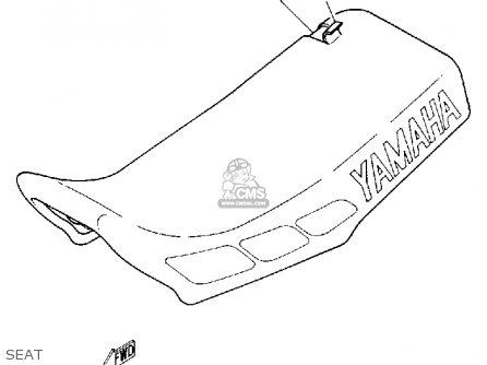 Yamaha Yz80 1992 (n) Usa parts list partsmanual partsfiche