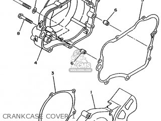 Yamaha YZ80 1996 4GT8 JAPAN 264GT-300E1 parts lists and