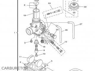 Yamaha YZ80 2000 4ES9 ENGLAND 104ES-100E1 parts lists and