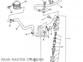 Yamaha YZ80 2000 4ES9 SWEDEN 104ES-100E1 parts lists and