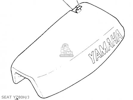 Yamaha Yz80 Competition 1981 (b) Usa parts list
