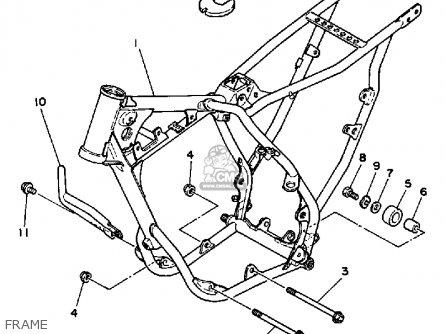 Yamaha Yz80 Competition 1986 (g) Usa parts list
