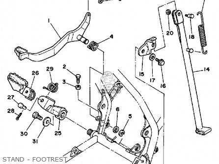 Yamaha Banshee Harness Yamaha Banshee Body Wiring Diagram