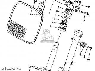 Yamaha YZ80B 1991 3MM3 USA 213MK-100E1 parts lists and