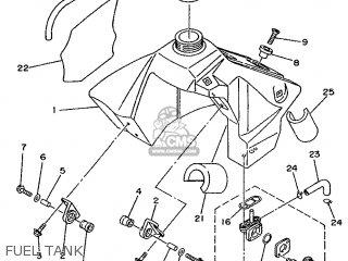 Yamaha YZ80E 1993 4ES1 NEW ZEALAND 234ES-100E1 parts lists