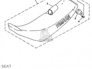Yamaha Yz80f 1994 4es3 Canada 244es-100e1 parts list