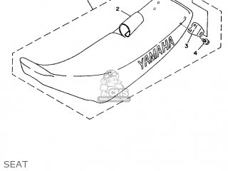 Yamaha YZ80H 1996 4GT7 AUSTRALIA 264GT-300E1 parts lists