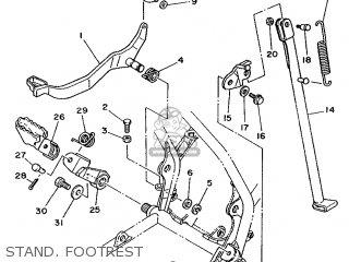Yamaha YZ80LC 1992 3ML4 AUSTRALIA 223ML-300E1 parts lists