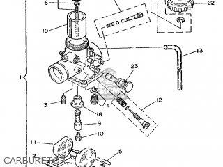 Yamaha Yz80lc/yz80a 1990 3ml2 Japan 203ml-300e1 parts list
