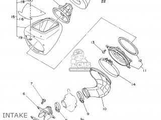 Yamaha YZ80LW 2000 4LC7 ITALY 104ES-100E1 parts lists and