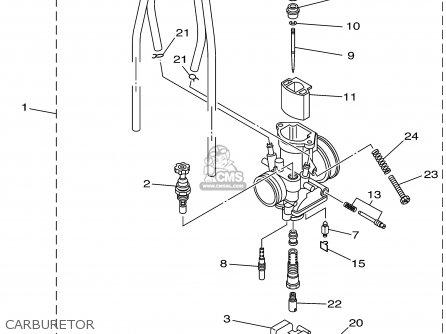 Yamaha Yz85 2002 (2) Usa parts list partsmanual partsfiche
