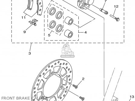 Yamaha Yz85 2002 (2) Usa parts list partsmanual partsfiche