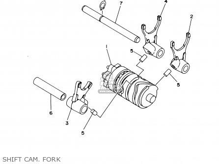 Yamaha Yz85 2003 (3) Usa parts list partsmanual partsfiche