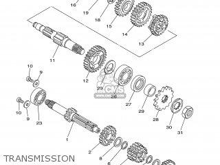 Yamaha YZ85 2003 5PA4 ENGLAND 1B5PA-100E1 parts lists and