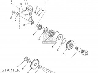 Yamaha YZ85 2003 5PA4 GERMANY 1B5PA-100E1 parts lists and