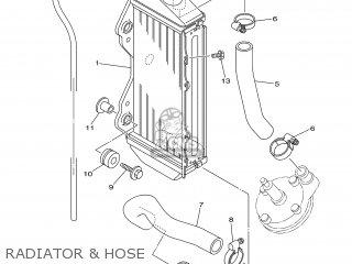 Yamaha YZ85 2004 5PA7 ENGLAND 1C5PA-100E1 parts lists and