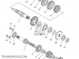 Yamaha Yz85 2005 5paa Europe 1d5pa-100e1 parts list