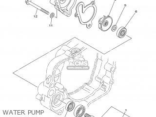 Yamaha YZ85 2006 5PAD EUROPE 1E5PA-100E1 parts lists and