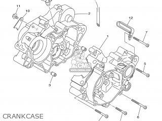 Yamaha YZ85 2007 5PAG EUROPE 1F5PA-100E1 parts lists and