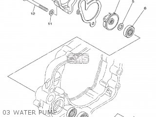 Yamaha YZ85 2009 5PAN EUROPE 1H5PA-100E1 parts lists and