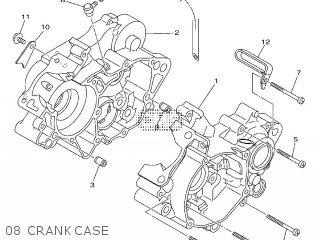 Yamaha YZ85 2010 5PAS EUROPE 1J5PA-100E1 parts lists and