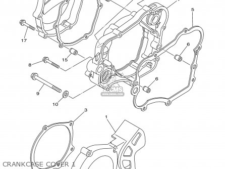 Yamaha Yz85r 2003 parts list partsmanual partsfiche