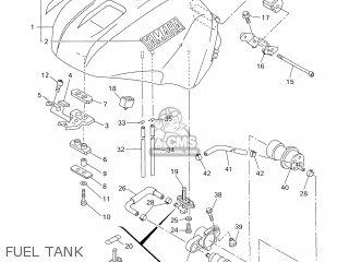 Yamaha Yzf-r1 1998 4xv2 Germany 184xv-332g2 parts list