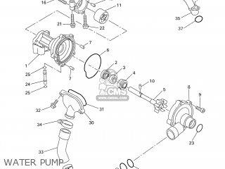 Yamaha YZF-R1 1998 4XV2 GERMANY 184XV-332G2 parts lists