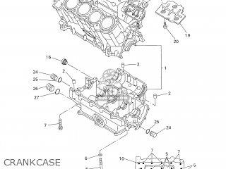 Yamaha YZF-R1 1999 4XV7 DENMARK 194XV-300E4 parts lists