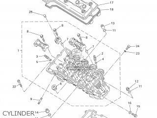 Yamaha YZF-R1 1999 4XV7 JAPAN 194XV-300E4 parts lists and