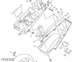 Yamaha Yzf-r1 2002 5pw1 England 1a5pw-300e4 parts list
