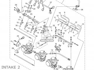 Yamaha YZF-R1 2002 5PW1 ENGLAND 1A5PW-300E4 parts lists