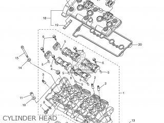 Yamaha YZF-R1 2006 5VYR FINLAND 1E5VY-300E1 parts lists