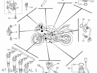 Yamaha Yzf-r1 R1 2009 14b1 Europe 1h14b-300e1 parts list