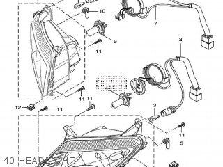 Yamaha YZF-R125 2009 5D72 EUROPE 1H5D7-300E1 parts lists