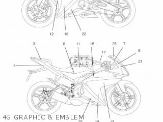 Yamaha YZF-R125 2009 5D75 EUROPE 1H5D7-300EA parts lists