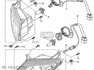 Yamaha YZF-R125 2010 5D74 EUROPE 1J5D7-300E1 parts lists