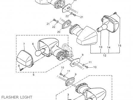 Yamaha Yzf-r1m/mc 2000 parts list partsmanual partsfiche