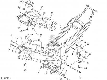 Yamaha Yzf-r1p/pc 2002 parts list partsmanual partsfiche