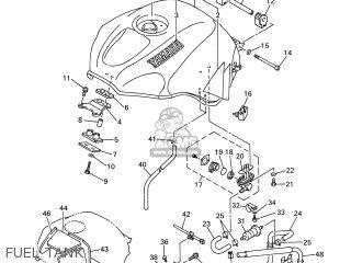 Yamaha YZF-R6 1999 5EB2 GERMANY 195EB-332G3 parts lists