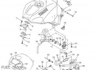 Yamaha Yzf-r6 2000 5eb5 Belgium 105eb-300e3 parts list