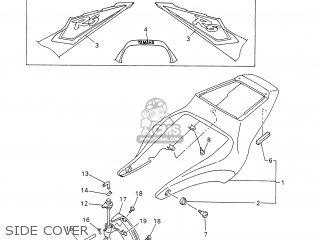 Yamaha YZF-R6 2001 5MT1 ENGLAND 115MT-300E1 parts lists